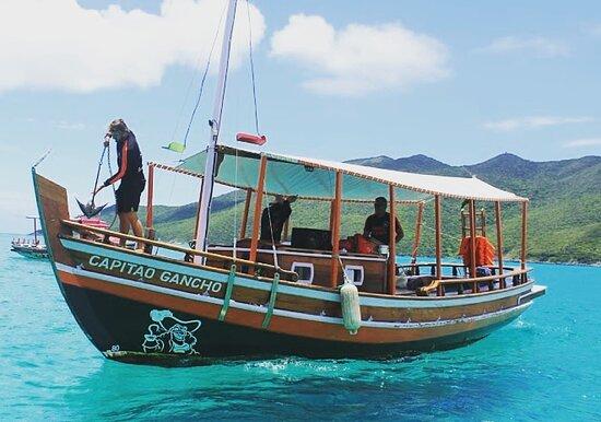 Embarcação Capitão Gancho