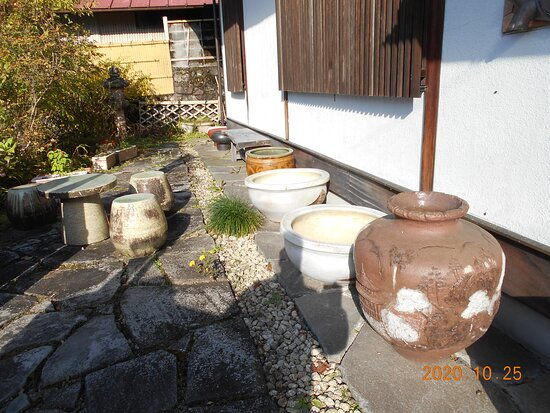 Pottery and Ryokan Statement