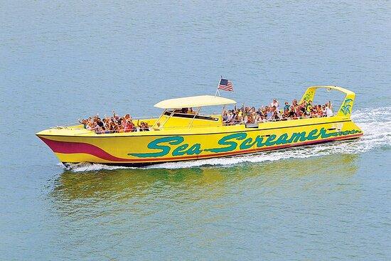 Clearwater Beach Speedboat Adventure...