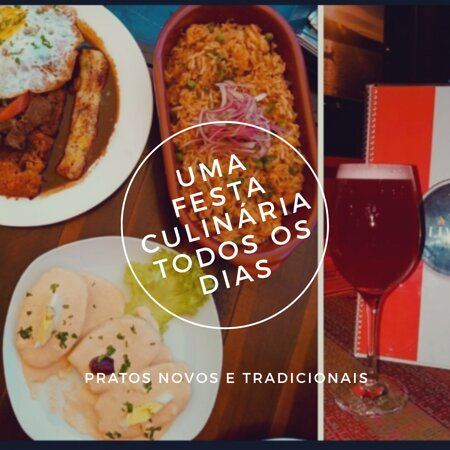 Ceviches e mais!! :) Culinária peruana aqui em Fortaleza