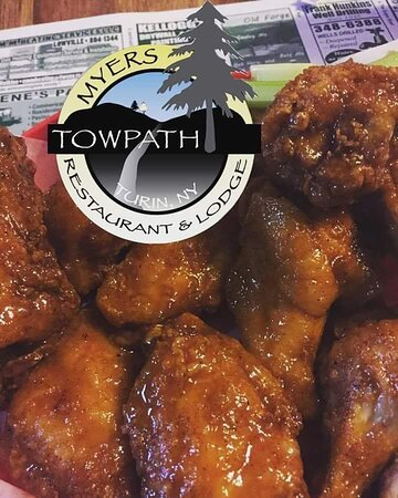 Turin, NY: Towpath's JUMBO Wings
