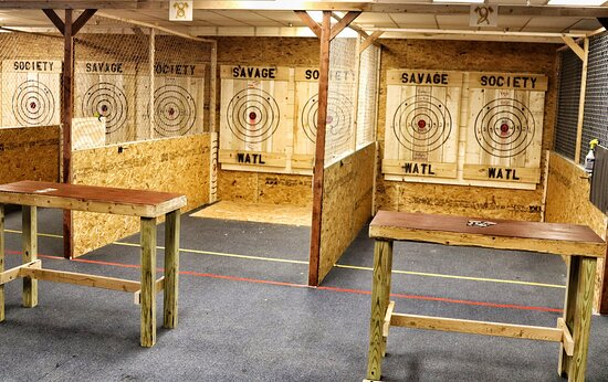 Savage Society - Axe Throwing