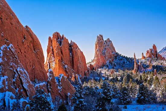 Privat tur til Pikes Peak Garden of Gods