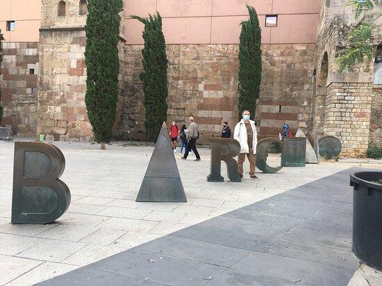 Escultura Barcino
