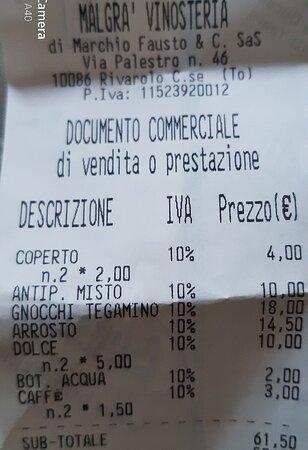Rivarolo Canavese, Italia: Malgra' Vinosteria Ristorante in Rivarolo