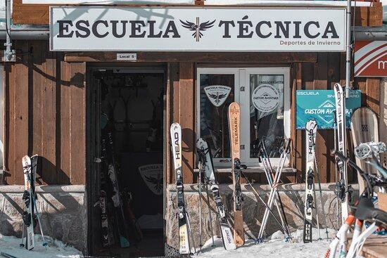 Escuela Tecnica de esquí