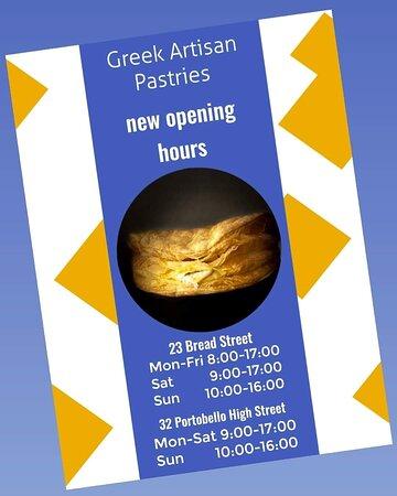 Image Greek Artisan Pastries in Edinburgh and Lothian