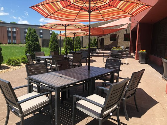 Our Outdoor Patio is open for dining!