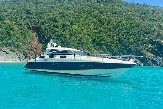 Full-Day Luxury Boat Rental in St. Thomas and St. John Island