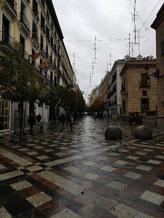 Calle desangelada.