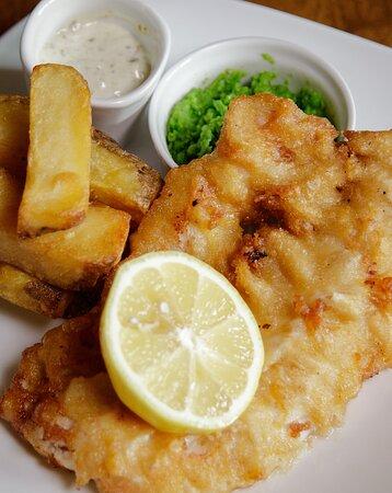 Butlers Cross, UK: Fish & Chips