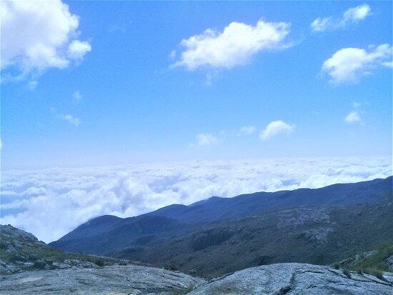 Caparao National Park, ES: Trilha a caminho do Pico do Calçado, 2849m.