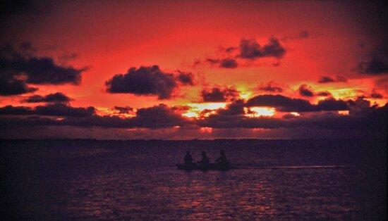 Micronesia . Laguna di Chuuk ( Truck) Marzo 1996