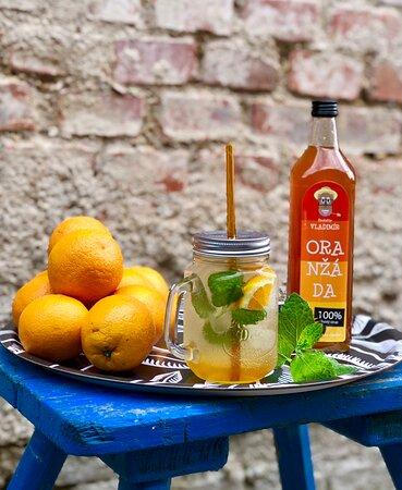 Chocen, Czech Republic: Osvěžující drinky z domácích sirupů