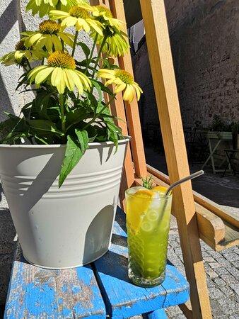 Chocen, Czech Republic: Matcha limonáda