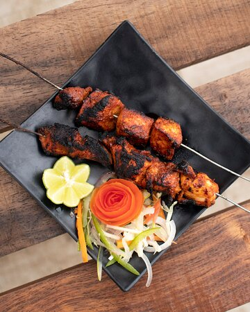 Chicken Pepper BBQ tossed with local spices and herbs