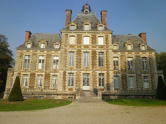 façade du château de Balleroy