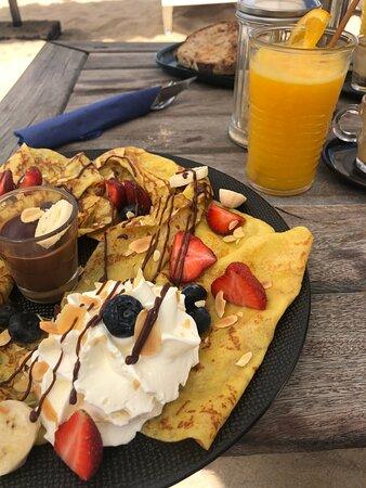 J'adore m'y prélasser avec un bon petit déjeuner