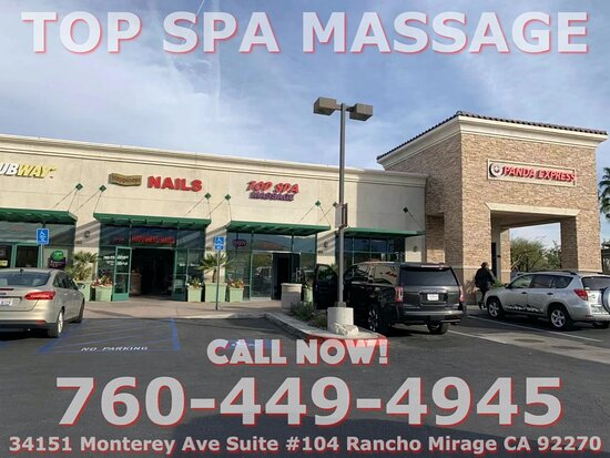 Here at Top Spa, We are a proud Asian Spa located in Rancho Mirage, California we are professional Asian massage therapists that are trained to provide all kinds of massages in one place right on Monterey Ave ! We like to say that we are the best asian massage in town! Our highly trained, licensed Asian massage therapists are here to help you get to those annoying knots on your body and release them, also to help you relax and relieve all built up stress!
