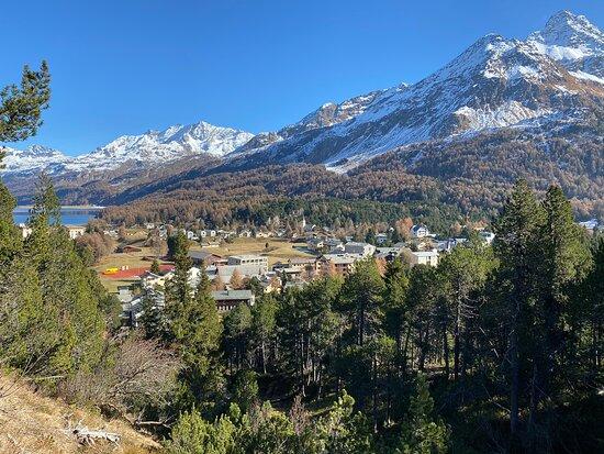 Gletschermühlen Maloja