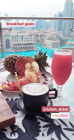 Breakfast with the best view