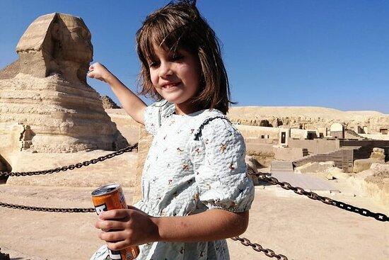 Giza pyramider Egyptisk museum markedet...