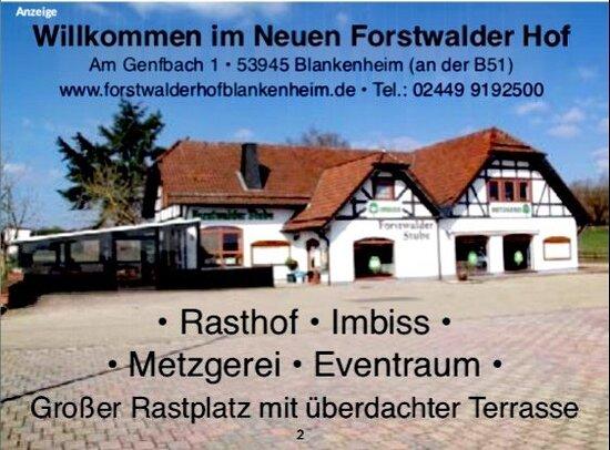 Blankenheim, Almanya: Forstwalder Stube