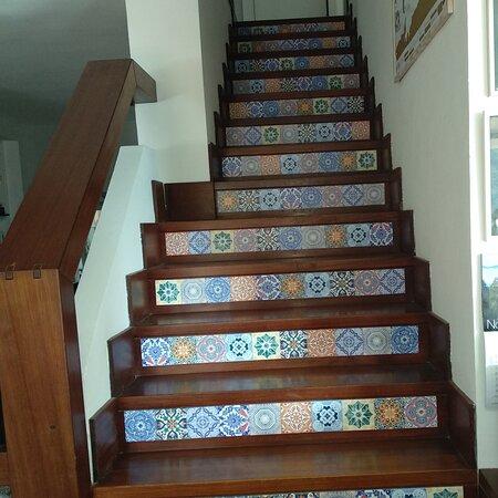 Quercianella, Itália: In mancanza di viaggi, portiamo un po' di azulejos in casa nostra...