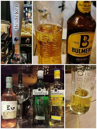 Shotley Bridge, UK: Great drinks selection