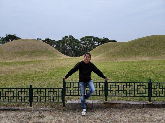 Silla Oreung Tombs