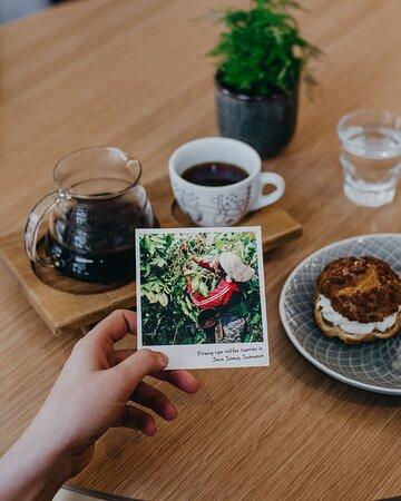La Boheme Cafe coffee card