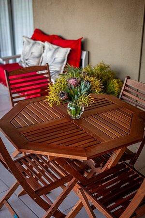 Kamieskroon, South Africa: Frances unit: patio