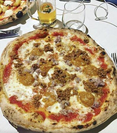 Renazzo, Ιταλία: Ragù, salsiccia e zucca