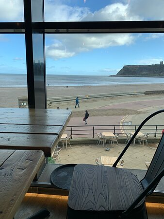 View from the cafe