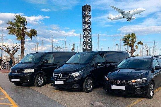Transfer Taxi: Venice Airport Marco Polo - Chioggia [opptil 4...