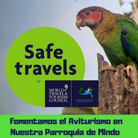 Viaja seguro  Nosotros fomentamos el Aviturismo  Más de 12 años de experiencia
