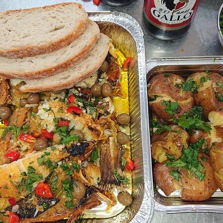 A sair o nosso afamado Bacalhau de São Martinho. 😉 BOM apetite. #MeryDoceMery ®