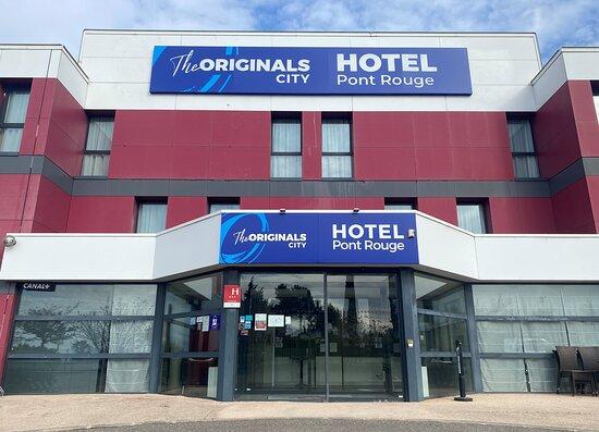 Hotel The Originals Carcassonne Pont Rouge
