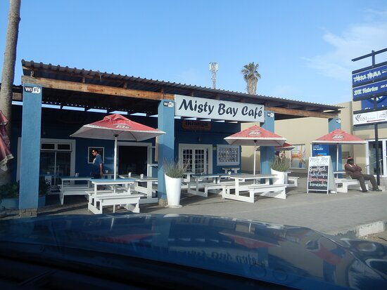 Hentiesbaai, Namibia: Misty Bay Cafe