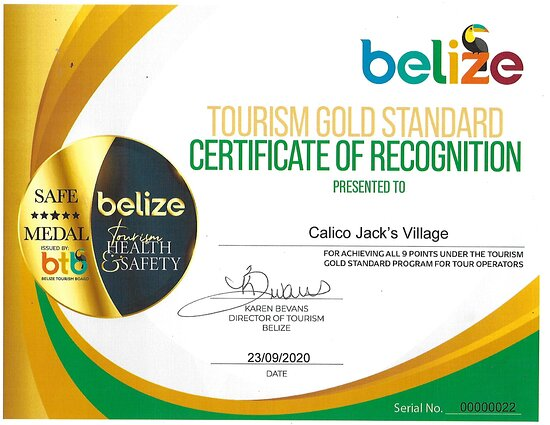 Cayo, Belize: Gold Standard Tour Operator