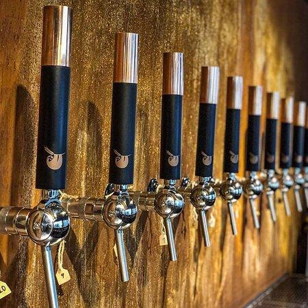'Sloth Brewing'tap handle