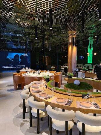 Отличный новый гастрономический ресторан на Саввинской набережной