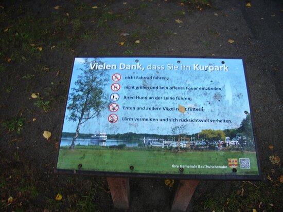 Wandelhalle In Badzwischenahn-kurpark.