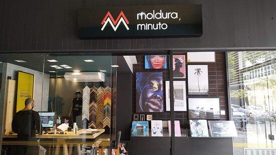 Moldura Minuto Galeria Paulista