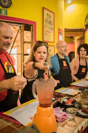 learn the true flavors of Mexico