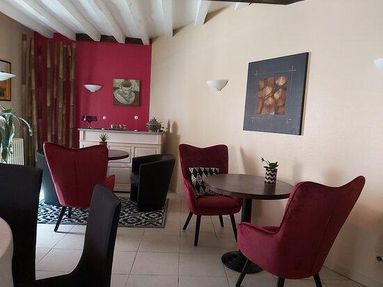 Cande, Franciaország: à l'étage salon de réception