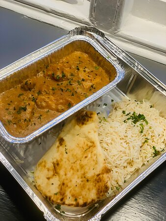 One of our Lockdown Curry takeaways