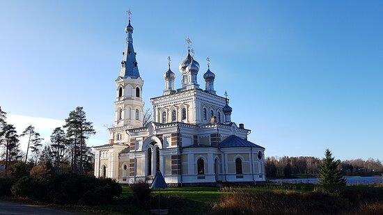 Stameriena, ลัตเวีย: Православная церковь Св. Александра Невского