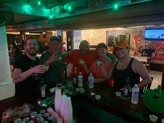 Great bar..