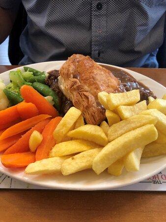 Coupar Angus, UK: Steak pie